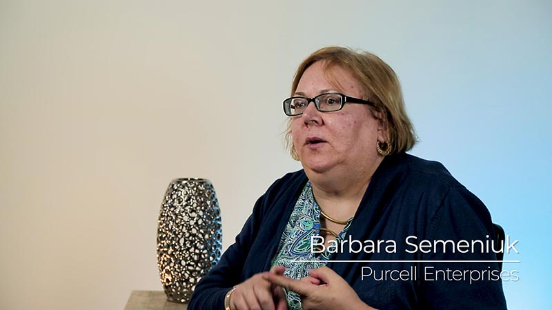 Who does Purcell Enterprises provide services to?