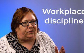Workplace discipline