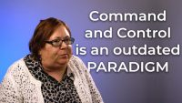 The command and control paradigm is outdated.